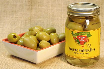 Picture of Jalapeno Stuffed Olives