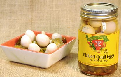 Picture of Pickled Quail Eggs