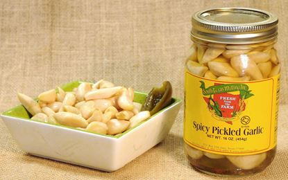 Picture of Spicy Pickled Garlic