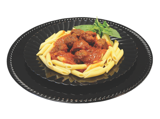 Picture of Penne Pasta & Meatballs